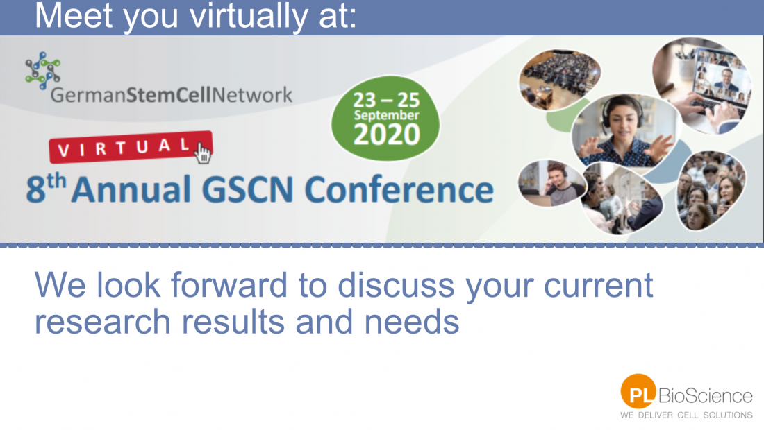 PL Bioscience at GSCN Congress 2020