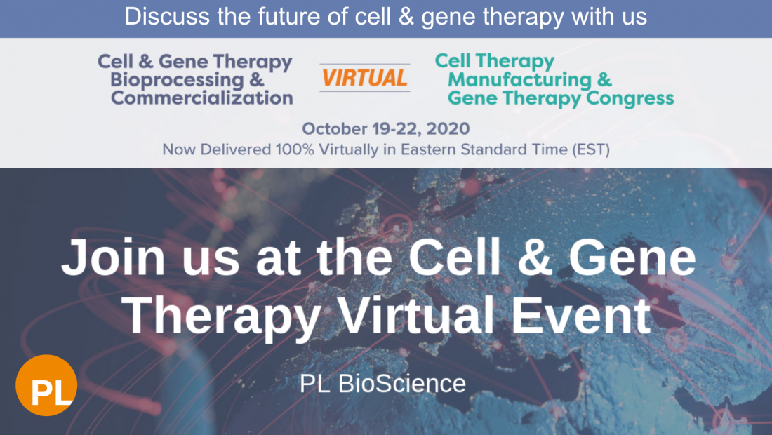 Cell and Gene therapy congress 2020 PL BioScience
