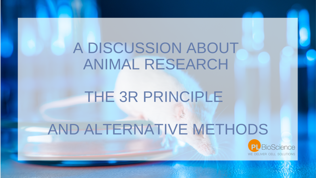 Animal experiments-3R Principle - Alternative Methods