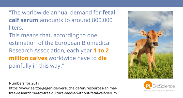 1-2 million calves die for the production of FBS
